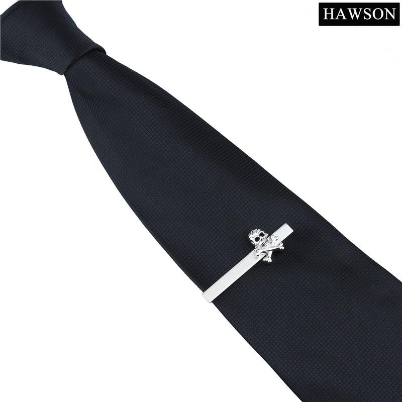 HAWSON Gümüş Renk Erkekler için Kişiselleştirilmiş Tasarımcı - Kostüm mücevherat - Fotoğraf 4