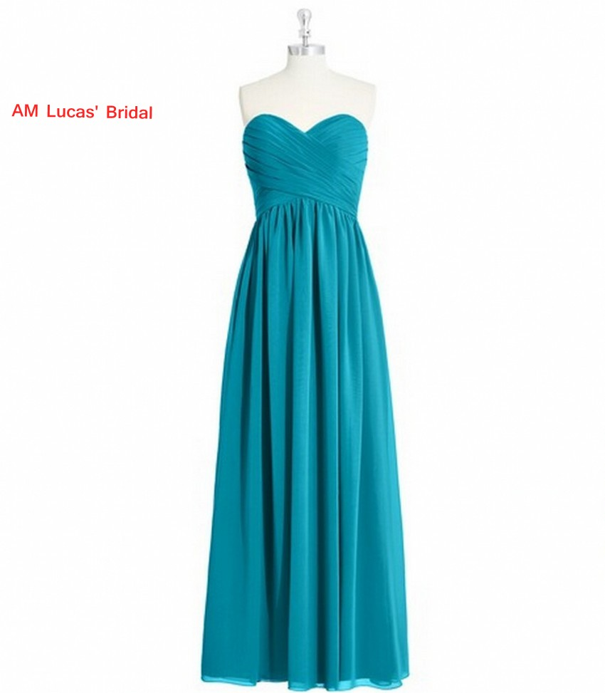Simple Straight Evening Dresses Pleat Formal Gowns For