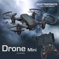 LeadingStar Mini Drone Atmosferik Basınç Set Yüksekliği Mini Katlanır 4-Axis Uçak Nefis İHA Wi-Fi Cep Telefonları için Linkler
