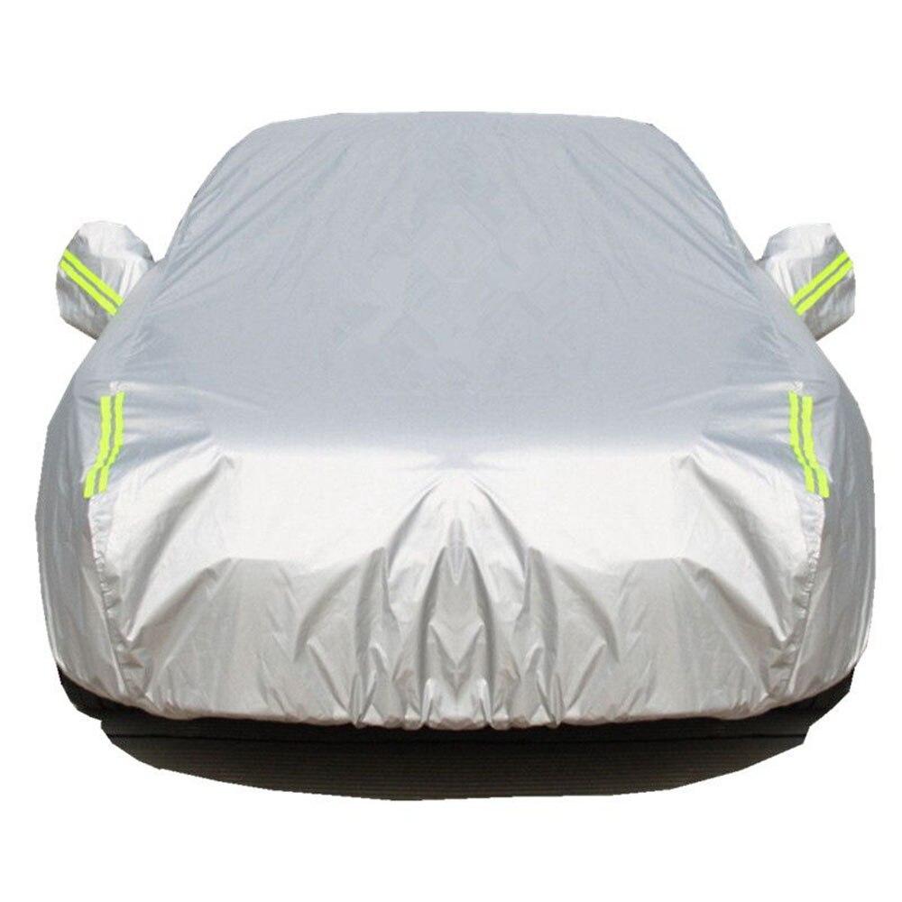 Bâches de voiture imperméables couverture de protection solaire extérieure pour voiture pare-soleil pluie neige protection pleine bâche de voiture universelle