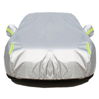 Waterproof car covers outdoor sun protection cover for Car Sunshade rain snow protective Full Car Cover Universal