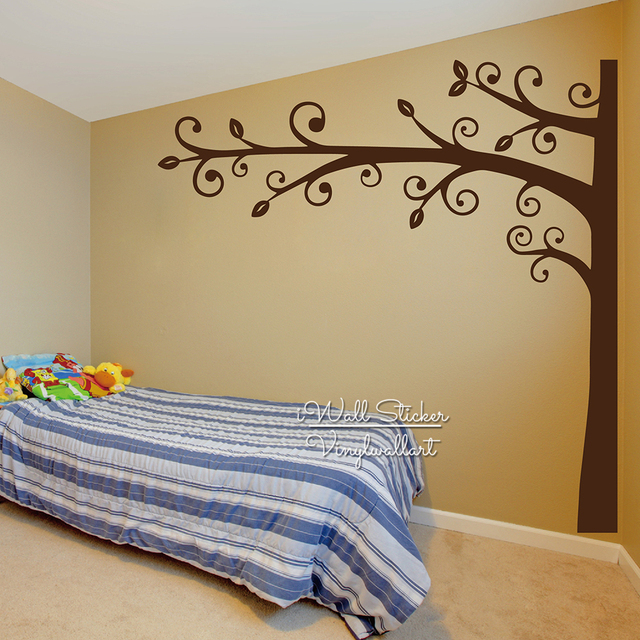 Children Tree Wall Sticker Baby Nursery Large Tree Wall Decal DIY ...