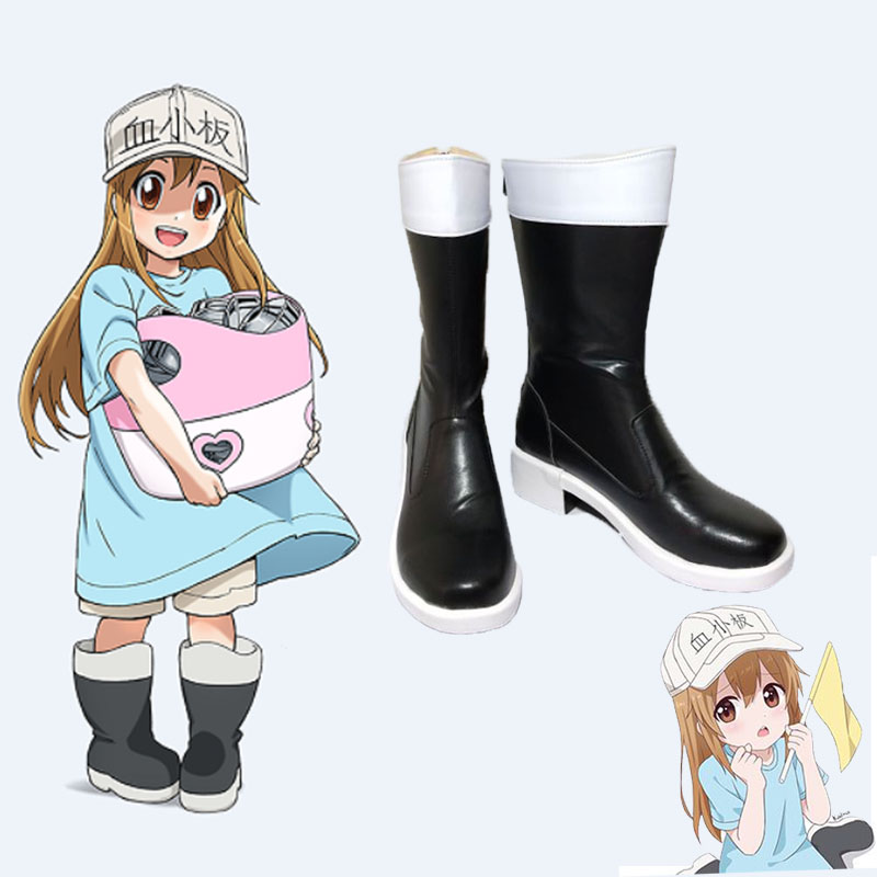 Cells At Work Cosplay Liva girl Anime Cells at work shoes red blood cell white blood cell Cosplay Costume