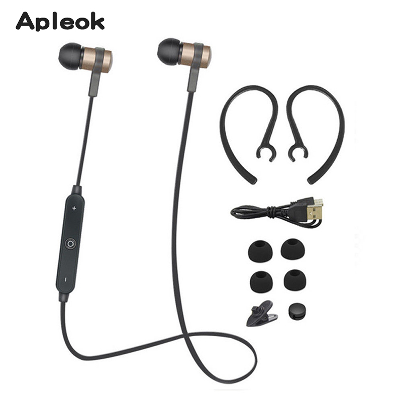 Wireless Headset Bluetooth 4.1 music stereo Ear Phone kulaklik mini earphone Sport Bluetooth earpiece for xiaomi mi6 auriculares  wireless music bluetooth headset 4 mini head wear sport ear hanging ear type 4 1 universal running stereo can insert card radio