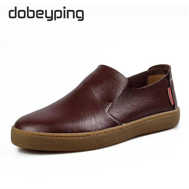 Zomer Mode Zacht Leer Man Schoen Casual Slip Mannen Platte Loafers Platform Jurk Sales Schoenen Oxfords Brogues Zapatos Hombre