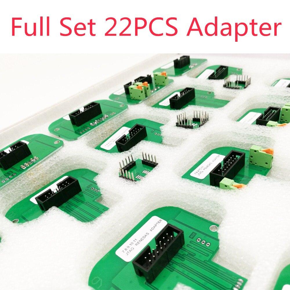 22 pcs Full Adapters LED BDM Frame For KTAG KESS KTM Dimsport BDM Probe ktag Kess