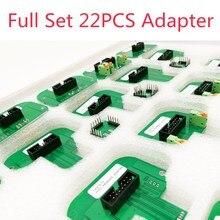 22 Uds adaptadores completos marco LED BDM para KTAG KESS Dimsport BDM sonda ktag Kess V2 mejor BDM100 herramienta de programación de ECU