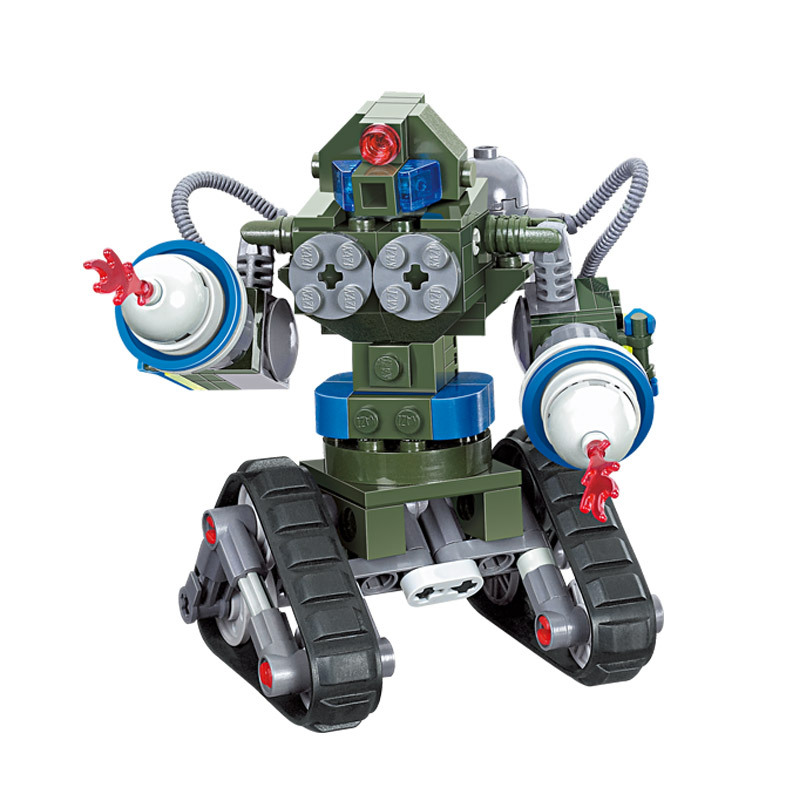 Red Alert 3 USA X-2 <font><b>Future</b></font> <font><b>Coming</b></font> Tank Military Building Block Toys Robot Tank Triangle Chariot Compatible famous brand KY81004