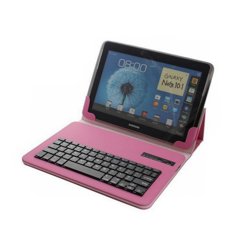 Universal Detachable Bluetooth Keyboard With PU Stand Cover 10.1 inch PC Tablet For Androis iOS Windows English Russian Keyboard universal 7 7 9 8 inch android windows ios tablet pc detachable bluetooth keyboard with touchpad pu leather case cover stand pen