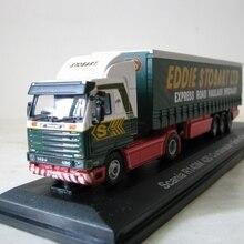 A TLAS 1: 76 Scania R143M 420 штора. Emily Kim. H156 бутик сплав Танк игрушки для детей Детские игрушки модель оригинальная коробка