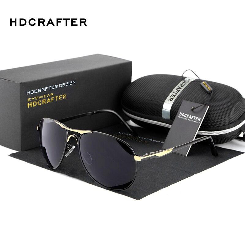 Оптовая 2016 Мода Поляризованных мужская Солнцезащитные Очки солнцезащитные очки Мужчины UV400 Марка Дизайнер с Высоким Качеством