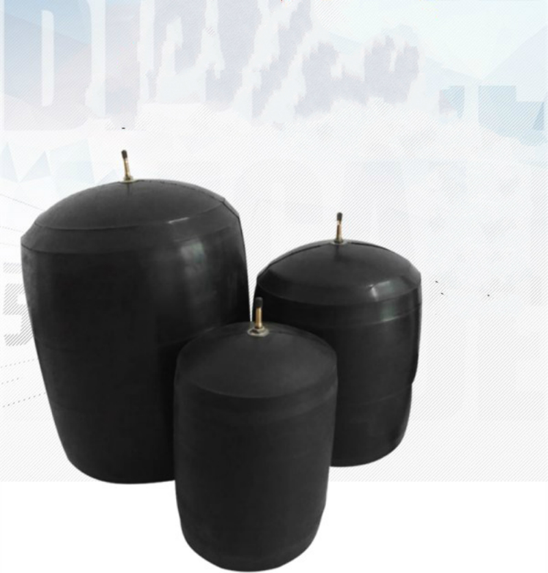 100mm To 110mm Water Plugging Airbag Water Shutoff Balloon Municipal Pipeline Gas Bag Rubber Stopper Inflatable Test Closed Ball