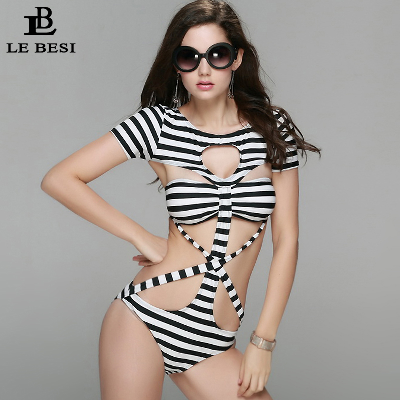 2017 New One Piece Swimsuit for Women Plus Size M-XXL Push Up Sexy - Sportswear and Accessories - Photo 5