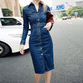 Plus Size Vestidos De Playa Woman Denim Dress Bondycon Sheath Womens Dresses Belt Tunic Blue Vestido Jeans Curto Mujer 2016 Boho