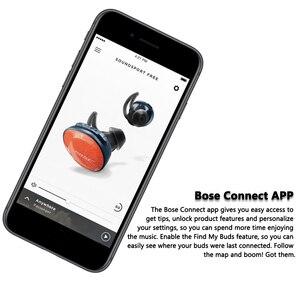 Image 5 - Bose Hoofdtelefoon SoundSport Gratis Echte Draadloze Bluetooth Oortelefoon TWS Oordopjes Transpiratie Sport Headset Muziek Oortelefoon met Microfoon