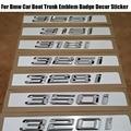 Топ авто-Стайлинг 3D наклейка с эмблемой для автомобиля знак для BMW 3 серии GT 318i 320i 325i 328i 330i 335i логотипа авто задний бампер с буквами-стикерами