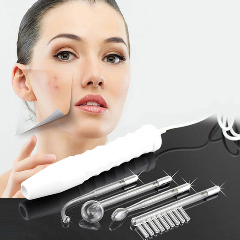 High Frequency Electrotherapy Stick Facial Beauty Skin Spot Acne Remover Machine Face Spa Salon Massager