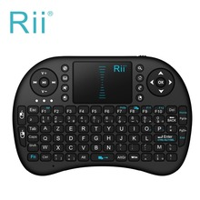 2.4G Original Rii i8 Mini Teclado Inalámbrico con Touchpad Del Ratón de Mano Teclados Para Naranja Pi, PC, Android TV, Raspberry Pi 3