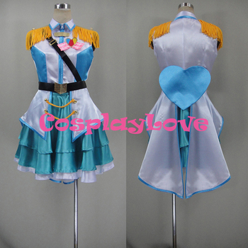 2016 The iDOLM STER Cinderlla Girls Rin Shibuya Cosplay Costume Dress Halloween Costumes