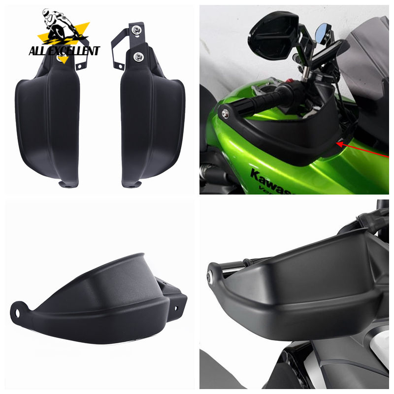 For Kawasaki Versys 650 1000 Z900 Motocycle hand handle guard protector handlebar handguards shields Brake Clutch