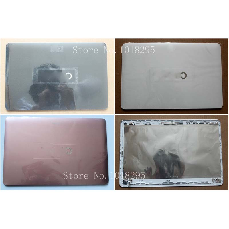 NEW Case FOR Sony Vaio SVF152C29V SVF153A1QT SVF152100C SVF1521Q1RW Base TOP LCD Cover Laptop Non touch
