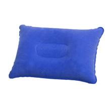 Портативная Ультралегкая надувная подушка из ПВХ и нейлона для сна, подушка для путешествий, путешествий, спальни, пеших прогулок, пляжного автомобиля, самолета, подголовника, поддержка 4