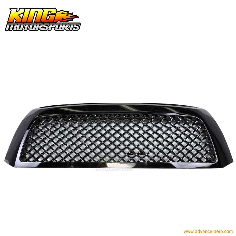 For 2007-2009 Toyota Tundra Black Mesh Grill Grille Brand New 2007 2008 2009 USA Domestic Free Shipping Hot Selling grille