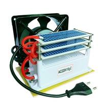18 g/h gerador de ozônio purificador de água do ar 3 camadas à prova umidade com ventilador ozonizador esterilizador tratamento máquina ozônio|Purificadores de ar| |  -