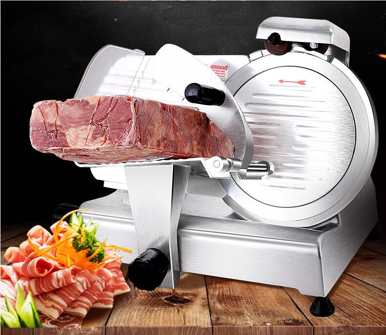 12 Inches Commercial Semi-automatic Slicer, Electric Lamb, Beef Slicer Meat Planer With Sharpening Function