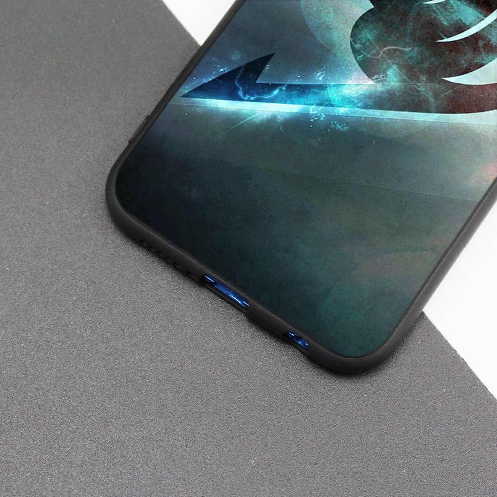 Cubierta de la caja de silicona para Huawei P20 P10 P9 P8 Lite Pro 2017 P inteligente + 2019 Nova 3i 3E teléfono fundas cola de hadas Anime