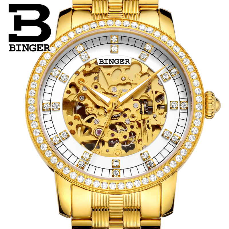 Switzerland Binger Watch Men Brand Luxury Miyota Automatic Mechanical Movement Men Watches Sapphire Waterproof Wristwatch 5051G3 switzerland binger watch men 2017 luxury brand automatic mechanical men s watches sapphire wristwatch male reloj hombre b1176g