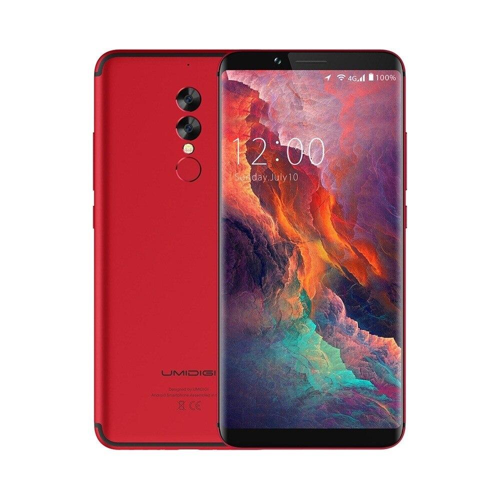 UMIDIGI S2 Pro 6.0 4G LTE Smartphone 6GB+128GB Android 7.0 5100mAh Mobilephone Apr18.28