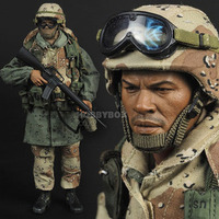 1/6 Scale 1:6 SS071 USMC Desert Saber Operation Soldier Male Action Figure full Set military sodier doll figure