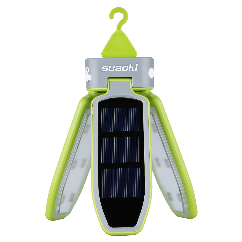 Suaoki Solar Tent LED Light Rechargeable Lantern Waterproof LED Light Lantern For Traveling Camping Hiking Outdoor Lighting