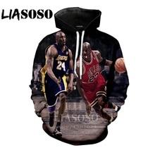 657bff624917 LIASOSO 3D Print Women Anime hoodie men Sweatshirts fashion hoodies  Harajuku Long sleeve hip hop Michael