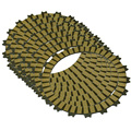 Motorcycle Clutch Friction Plates For HONDA CR125R 2000-2014 2014 2013 2012 2011 2010 2009 2008 2007 CRF250R 2004 2005 2006 2007