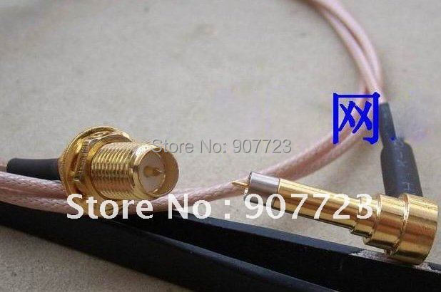 Wholesale RF Coaxial MS156 plug male To SMA Female jack test probe RG174 cable