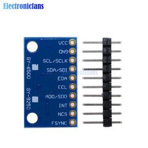 Image 5 - 1Set SPI IIC/I2C GY 9250 MPU 9250 MPU 9250 9 Axis Attitude +Gyro+Accelerator+Magnetometer Sensor Board Module MPU9250 3 5V Power