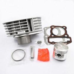 Hohe Qualität Motorrad Zylinder Kit 56mm Bohrung Für SYM M88 XS125-A XS 125 Motor Spart Teile