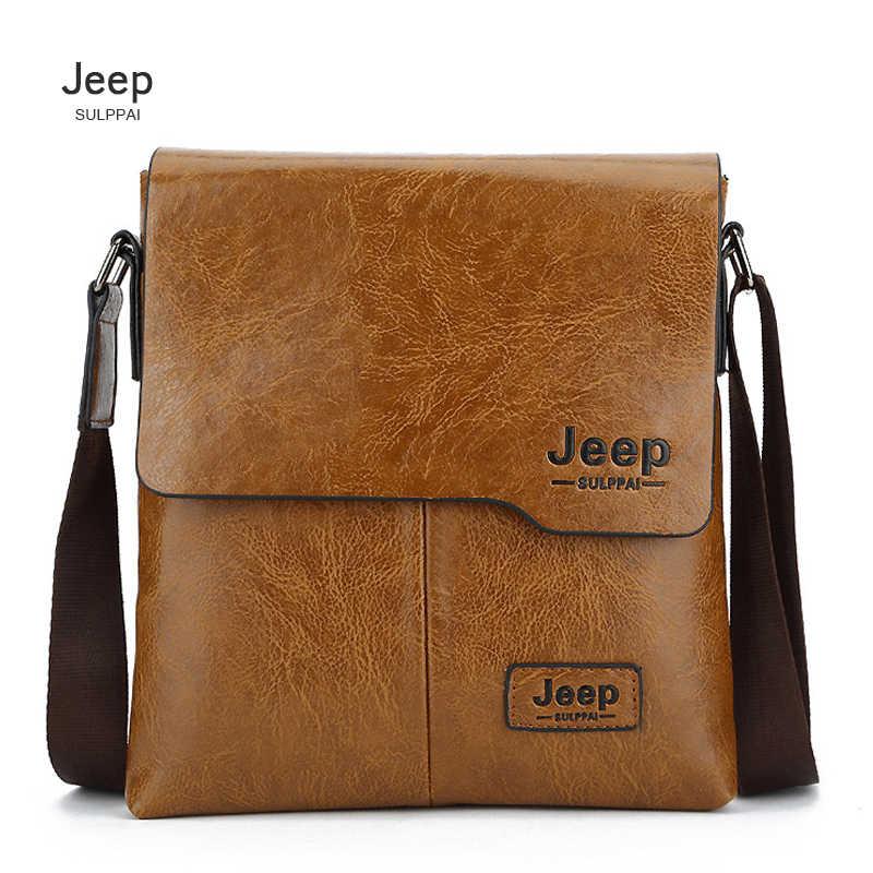a6ea3c8e7f40 2018 JEEP Sulppai Специальное предложение кожаная сумка мода Бизнес  crossbody мешок сумка через плечо, портфель