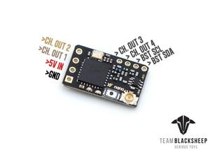 Image 3 - Original TBS Team BlackSheep Crossfire Nano Receiver RX CRSF 915/868Mhz Long RangeวิทยุระบบสำหรับRC Multicopter racing Drone