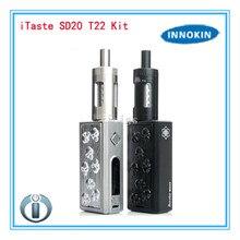 100% Original Innokin iTaste SD20 Starter Kit with 4ML Endura T22 Tank 20W Evolv DHA20 Chip 2000mah Battery
