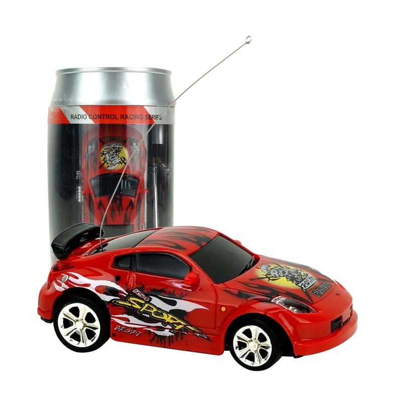 SHENQIWEI 2010B 1:58 Mini RC Car Creative Design With Cola Can Remote Control Car Vehicle Cool Toy for Boys kids Christmas Gift