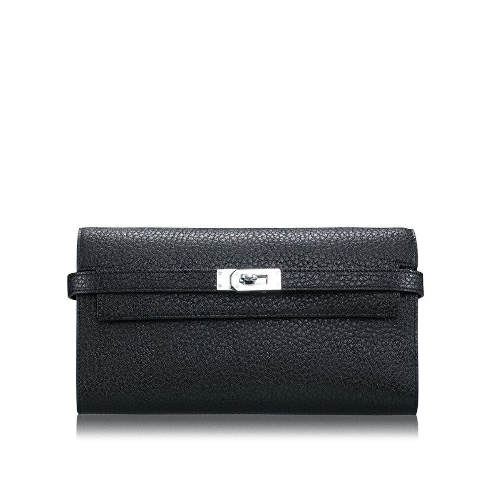 цены Women Wallets Luxury Brand Wallets Designer Purse 100% Genuine Leather Card Holder Famous Brand Clutch