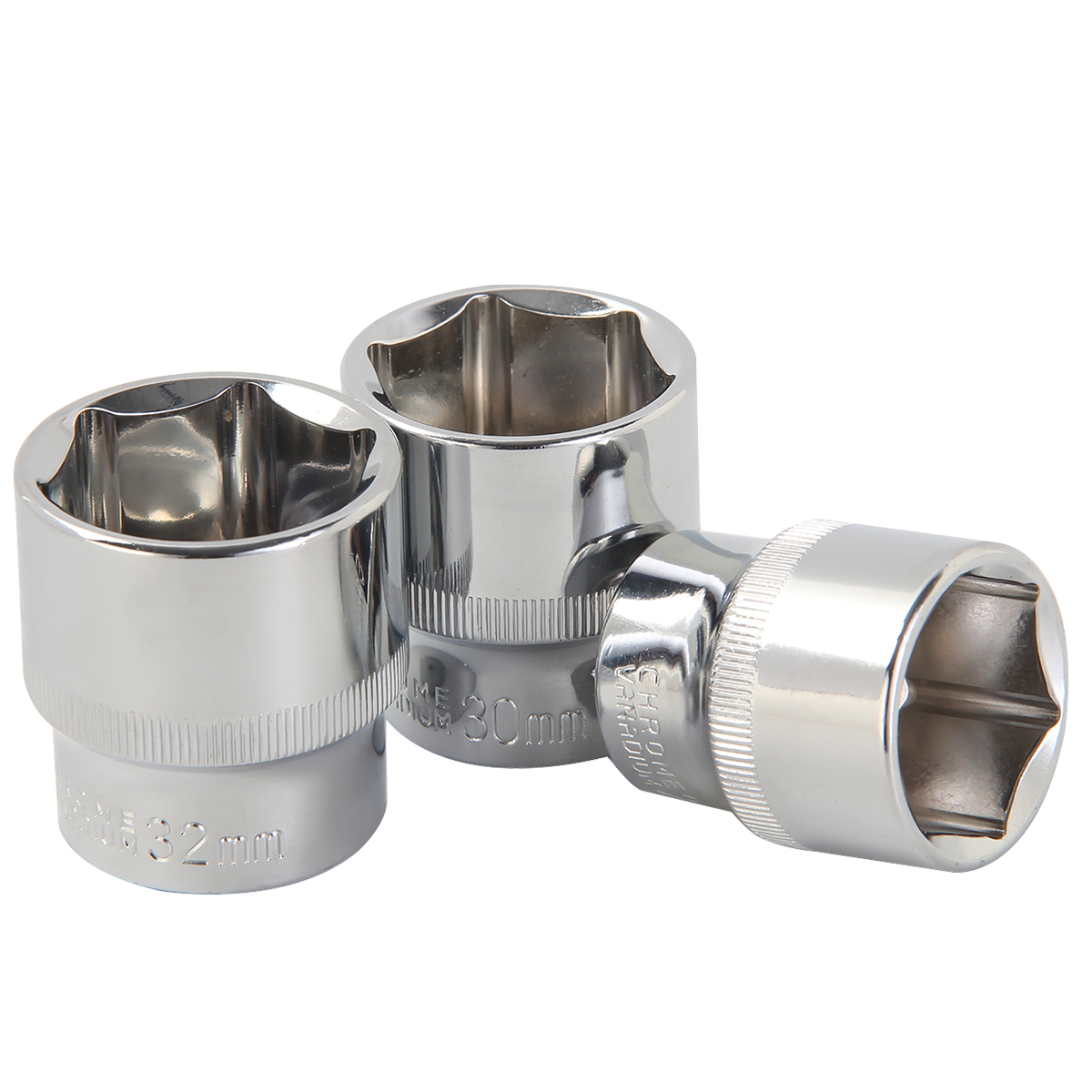 """Standard Socket for Ratchet Wrench 1//4/"""" 3//8/"""" 1//2/"""" Drive 4~32 Mm Metric Sleeve"""