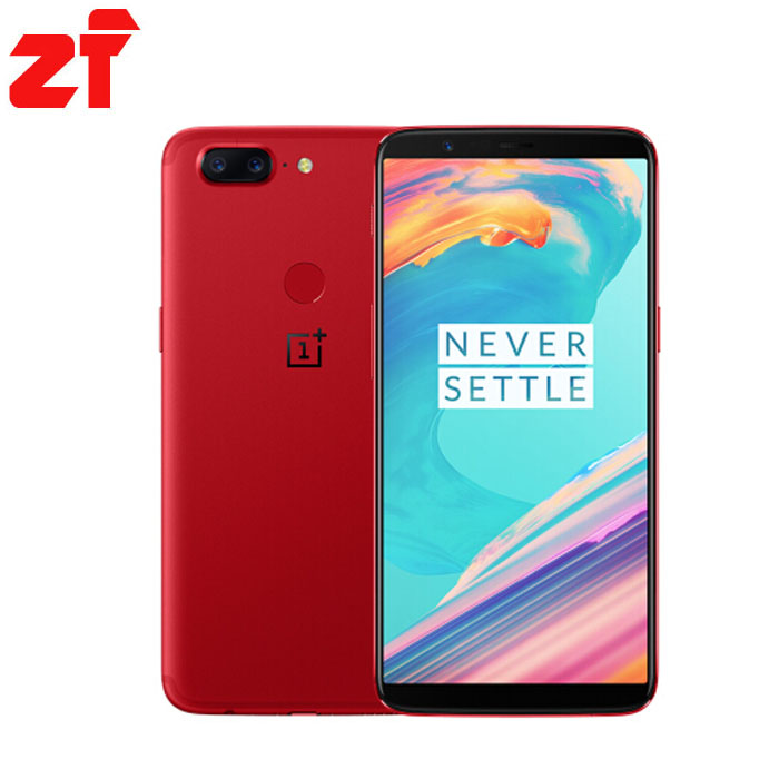 OnePlus 5T 5 T a5010 6GB/64GB Snapdragon 835 Octa Core Fingerprint ID OxygenOS Android SmartPhone