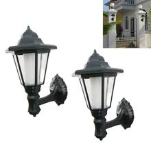 2Pcs Outdoor Solar Power Lawn Lamps LED Spot Light Garden Path   Hanging Lights Landscape Decoration Lights