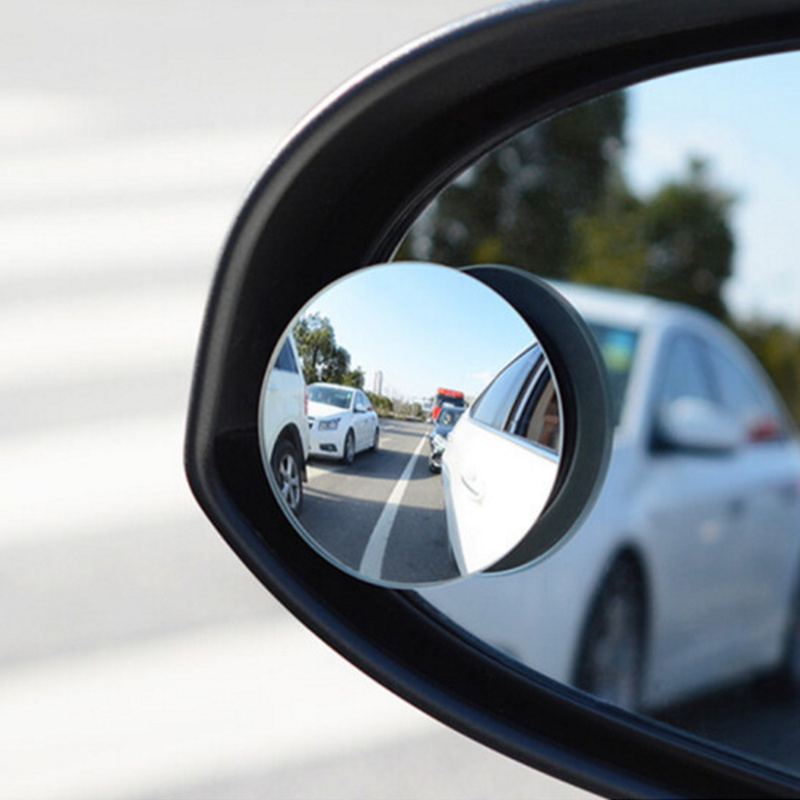 1Pair Car Round Convex Blind Spot mirror For Kamaz Oka rain eyebrow refires rearview mirror Izh Kamaz Lada UAZ Avtotor TaGaz