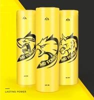 2PCS ICL OZTOUGH 18650 battery 3.7V 3100mah 80A High Drain yellow rechargeable li lon Vape Electronic cigarette power batteries