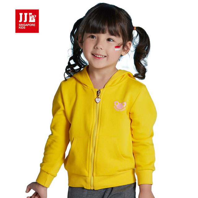 baby girls hoodie coat infant outwear kids sweatshirts girls trench kids coats children clothes candy color girls clothing